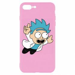 Чехол для iPhone 7 Plus Rick is flying