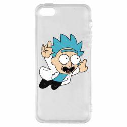 Чехол для iPhone5/5S/SE Rick is flying
