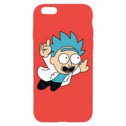 Чехол для iPhone 6/6S Rick is flying