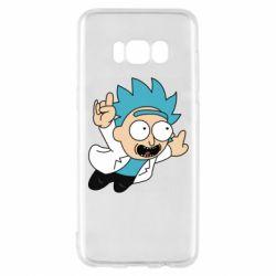 Чехол для Samsung S8 Rick is flying
