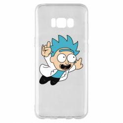 Чехол для Samsung S8+ Rick is flying