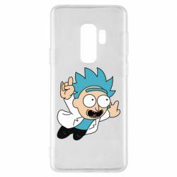 Чехол для Samsung S9+ Rick is flying