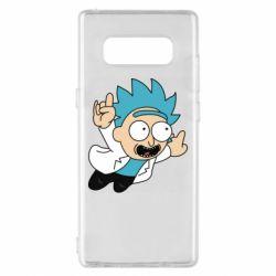 Чехол для Samsung Note 8 Rick is flying