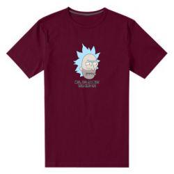 Мужская стрейчевая футболка Rick live