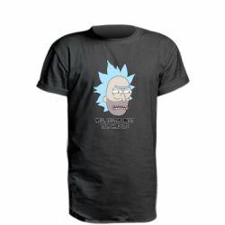 Удлиненная футболка Rick live
