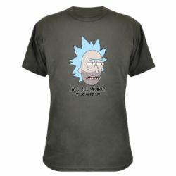 Камуфляжная футболка Rick live