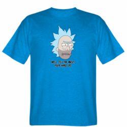 Мужская футболка Rick live