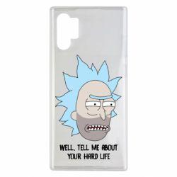 Чехол для Samsung Note 10 Plus Rick live