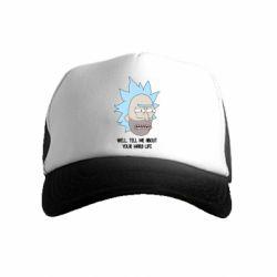 Детская кепка-тракер Rick live