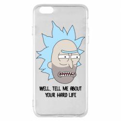 Чехол для iPhone 6 Plus/6S Plus Rick live
