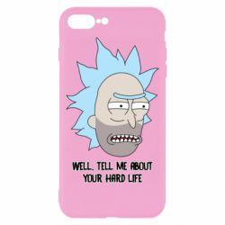 Чехол для iPhone 8 Plus Rick live