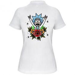 Жіноча футболка поло Rick Tattoo