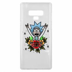Чехол для Samsung Note 9 Rick Tattoo