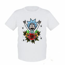 Дитяча футболка Rick Tattoo