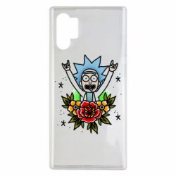 Чехол для Samsung Note 10 Plus Rick Tattoo