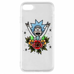 Чехол для iPhone 7 Rick Tattoo
