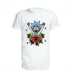 Подовжена футболка Rick Tattoo