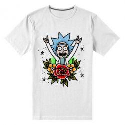 Чоловіча стрейчева футболка Rick Tattoo