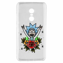 Чехол для Xiaomi Redmi Note 4 Rick Tattoo