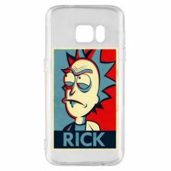 Чехол для Samsung S7 Rick
