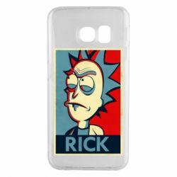 Чехол для Samsung S6 EDGE Rick
