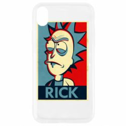 Чехол для iPhone XR Rick