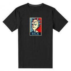 Мужская стрейчевая футболка Rick