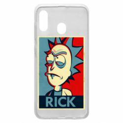 Чехол для Samsung A30 Rick