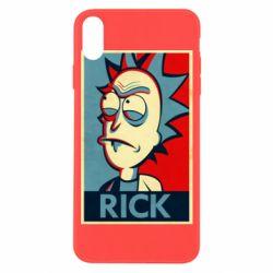 Чехол для iPhone X/Xs Rick