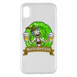 Чехол для iPhone X/Xs Ricktoberfest
