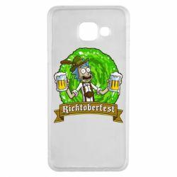 Чехол для Samsung A3 2016 Ricktoberfest