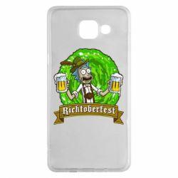 Чехол для Samsung A5 2016 Ricktoberfest