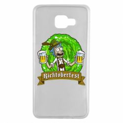 Чехол для Samsung A7 2016 Ricktoberfest