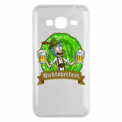 Чехол для Samsung J3 2016 Ricktoberfest