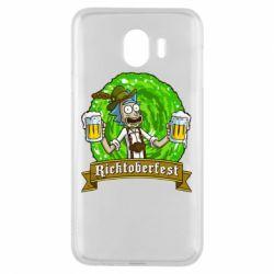 Чехол для Samsung J4 Ricktoberfest