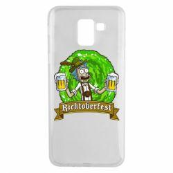 Чехол для Samsung J6 Ricktoberfest
