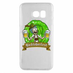 Чехол для Samsung S6 EDGE Ricktoberfest