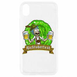 Чехол для iPhone XR Ricktoberfest