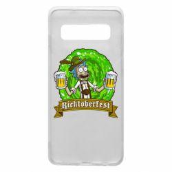 Чехол для Samsung S10 Ricktoberfest