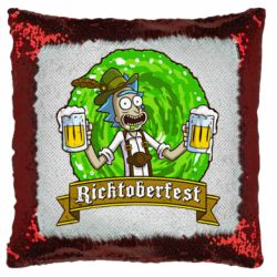 Подушка-хамелеон Ricktoberfest