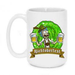 Кружка 420ml Ricktoberfest