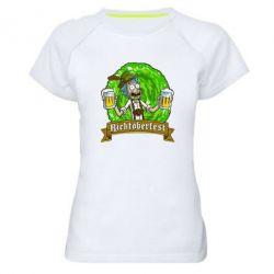 Женская спортивная футболка Ricktoberfest