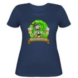 Женская футболка Ricktoberfest