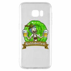 Чехол для Samsung S7 EDGE Ricktoberfest