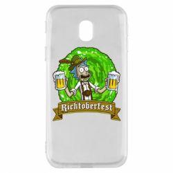 Чехол для Samsung J3 2017 Ricktoberfest