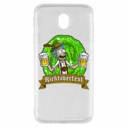 Чехол для Samsung J7 2017 Ricktoberfest