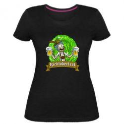 Женская стрейчевая футболка Ricktoberfest