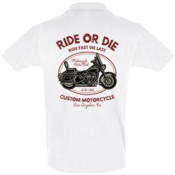 Футболка Поло Ride Or Die