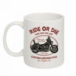 Кружка 320ml Ride Or Die