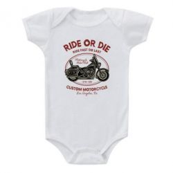 Дитячий бодік Ride Or Die